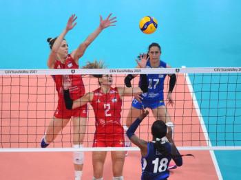 Poraz odbojkašica Srbije u finalu, Italija šampion Evrope