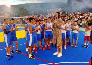 Tijana Bošković svečano otvorila igralište u rodnom gradu
