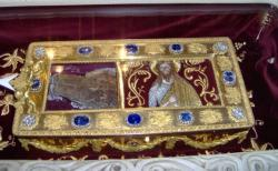 Sudbina ruke Svetog Jovana Krstitelja, ruke koja je krstila Isusa