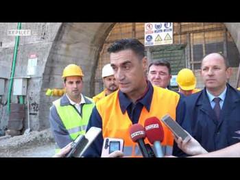 Tunel ''Fatničko polje-Akumulacija Bileća'': Završna faza radova