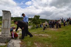 Nevesinje obilježilo 75 godina od ustaškog zločina u selima Drežanj i Udrežnje