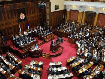 Poslanici Skupštine Srbije o Zakonu o zaštiti ćirilice
