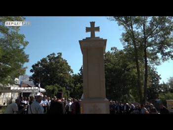U Berkovićima osveštan spomenik za poginule u Odbrambeno-otadžbinskom ratu(video)