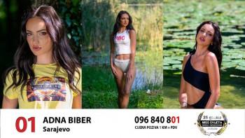 Sara Dangubić iz Ljubinja druga pratilja na Izboru za Miss BiH