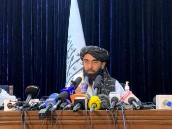 Portparol talibana: SAD moraju da odgovaraju za prošlost