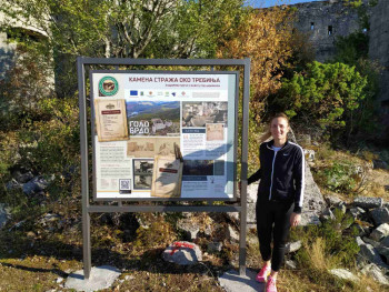 Postavljene turističke table `Kamena straža oko Trebinja`