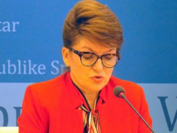 Vidovićeva očekuje usvajanje Prijedloga rebalansa budžeta za ovu godinu
