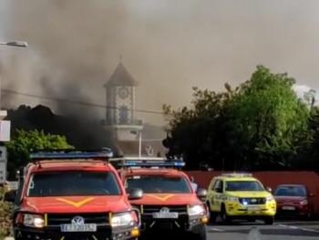Ла Палма: Лава прогутала цркву (ВИДЕО)