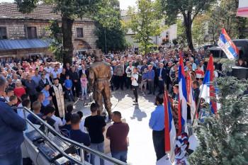 Bileća: Otkriven spomenik vojvodi Radovanu Radoviću
