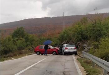 Saobraćajka na putu Trebinje – Bileća