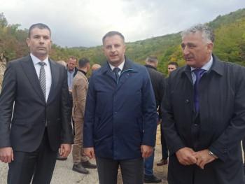 Ozvaničen početak radova na magistralnom putu Nevesinje - Mostar