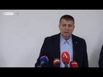 Snimak konferencije za novinare Slavka Vučurevića