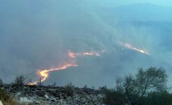 Požar pustoši Leotar, gasi i helikopter Oružanih snaga BiH