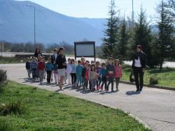 Berkovići: Djeca iz vrtića posjetila opštinu