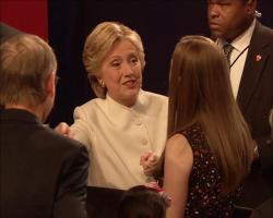 Žestoka debata, Klinton i Tramp bez pozdrava