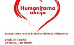 Humanitarno veče za Milorada Miljanovića