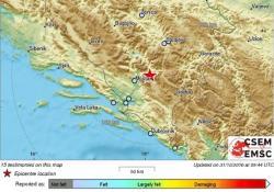 Stanovnike Hercegovine uznemirio jači potres