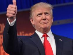 Tramp 'za dlaku' pretekao Klintonovu