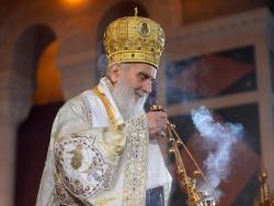Patrijarh Irinej sutra u Hilandaru