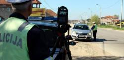 CJB: U Opštini Berkovići evidentirano prekoračenje brzine za više od 50KM/h