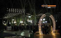 Doček Nove godine na trgu u Trebinju, Dubrovniku i Crnoj Gori