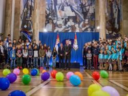 Djeca iz Srpske u gostima kod predsjednika Srbije