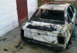Trebinje: Izgorio automobil