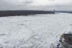 Pogledajte zaleđeni Dunav u Beogradu (VIDEO)