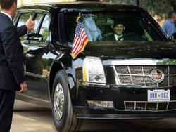 Tramp stigao u Vašington, danas inauguracija