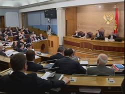 Скупштина одустала од употребе црногорских слова