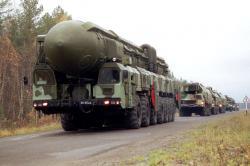 "Raketni sistem Topolj-M ""prošetao"" ulicama Moskve (VIDEO)"