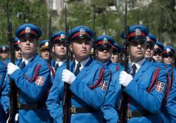 Srpski gardisti danas marširaju Crvenim trgom