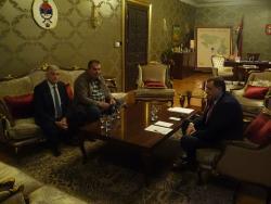 Predsjednik Srpske primio načelnika Bileće