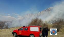 Gatački vatrogasci intervenisali na gašenju šumskih požara