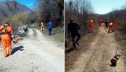 Civilna zaštita u akciji čišćenja seoskih puteva