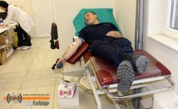 Policija darovala krv