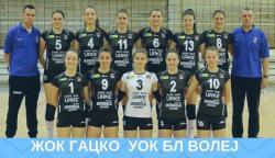 """Odbojka: ŽOK """"Gacko"""" u petak dočekuje ekipu ŽOK """"BL Volej"""""""