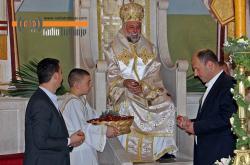 VASKRS: Vladika Grigorije služio liturgiju u Trebinju