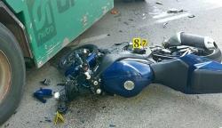 Povrijeđeni motociklista i njegov suvozač van životne opasnosti
