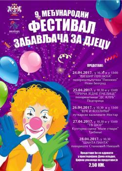 Deveti međunarodni festival zabavljača za djecu