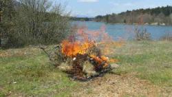 """Невесиње: Чланови СРД """"Заломка"""" спалили мрежу криволовцима"""