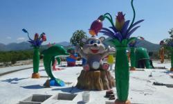 Град сунца: Монтажа првих забавних садржаја, у мају стижу диносауруси
