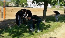 Млади СНСД-а, ДНС-а и СП у акцији чишћења