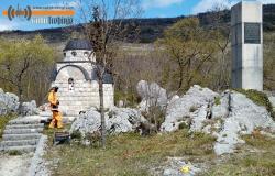 Акција чишћења спомен локалитета у МЗ Величани