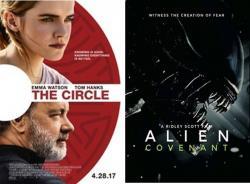 """Нови филмови у требињском биоскопу: Круг и """"Aлиен"""" Савез"""