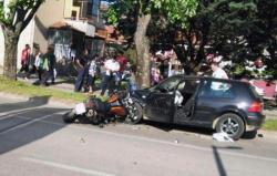 Motociklista iz Poljske udario u