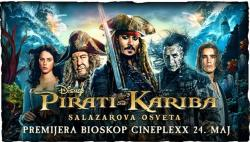 Пирати са Кариба: Салазарова освета у биоскопу од 25. до 31. маја