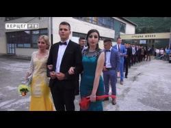 Најмалобројнија генерација матураната у Љубињу (ВИДЕО)