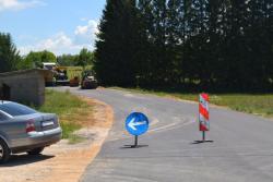 Пресвлачење асфалта на путу Невесиње - Оџак