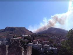 Пожари код Јабланице и Мостара